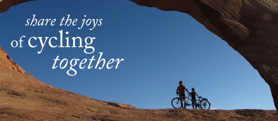 Share the joys of cycling together